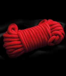 FETISH DREAMS BONDAGE ROPE 10 M RED